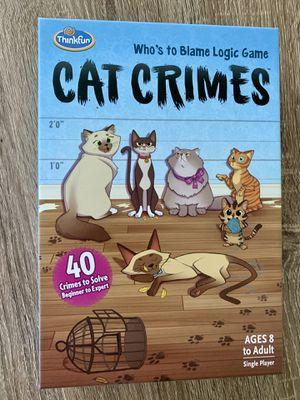 Cat Crimes game for Sale in Fort Myers, FL