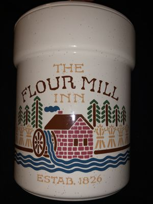 The flour mill inn canister for Sale in Irvine, CA