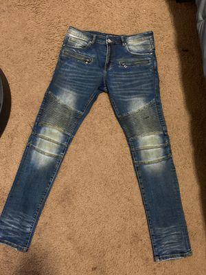 Embellish biker jeans for Sale in San Francisco, CA
