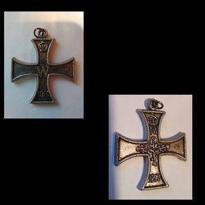 Set of Vintage Cross Pendants x2 w/Gift Bag for Sale in Eugene, OR