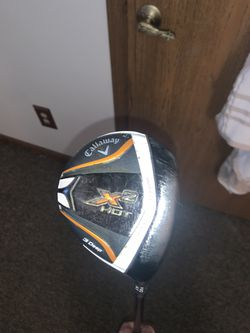 Callaway X2 Hot Fairway Wood Gold Club Used for Sale in Indianapolis,  IN