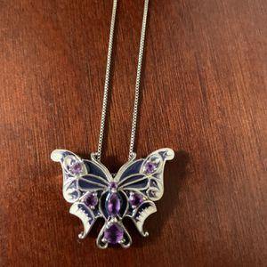 Amethyst butterfly for Sale in Rustburg, VA