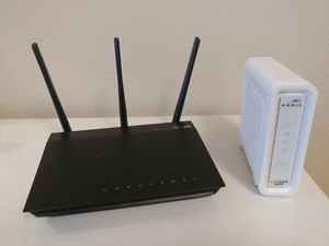 Arris Modem / Asus Router for Sale in Aurora, OR