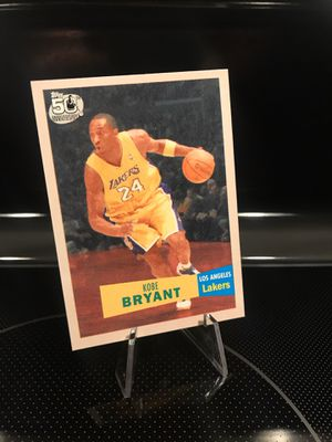 **2007 Topps Kobe Bryant Collectible Card**Lakers Jersey 24 Black Mamba Memorabilia**Vintage Style 50th Anniversary **MINT**$23 OBO for Sale in Carlsbad, CA
