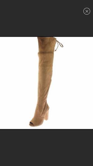 Steve Madden tan boot work twice! for Sale in Atlanta, GA