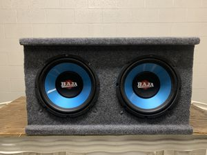 Subwoofers 10 inch for Sale in Fountain Valley, CA
