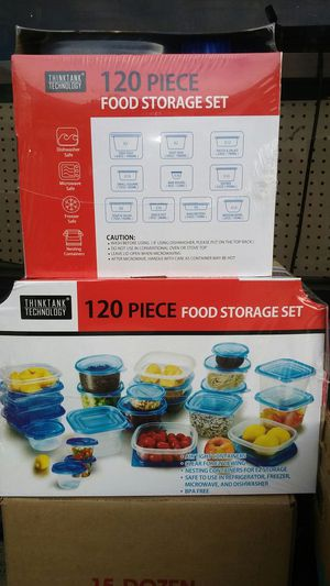 120pcs Food Storage Container for Sale in Los Angeles, CA