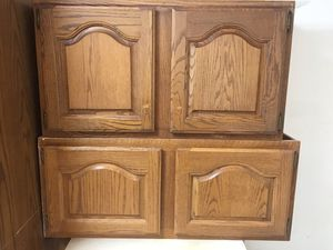 Solid Oak Kitchen Cabinets for Sale in Herndon, VA