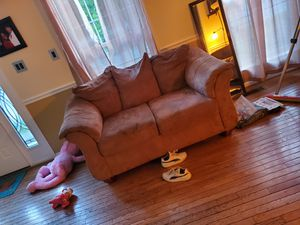 Loveseat and Couch for Sale in Laurel, MD