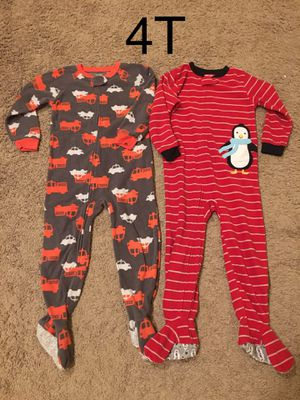 Boy clothes/one piece pajamas size 4t (still available) for Sale in Auburn, WA