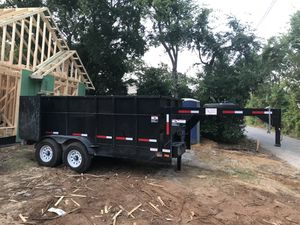 Dump trailer for delivery for Sale in Garland, TX