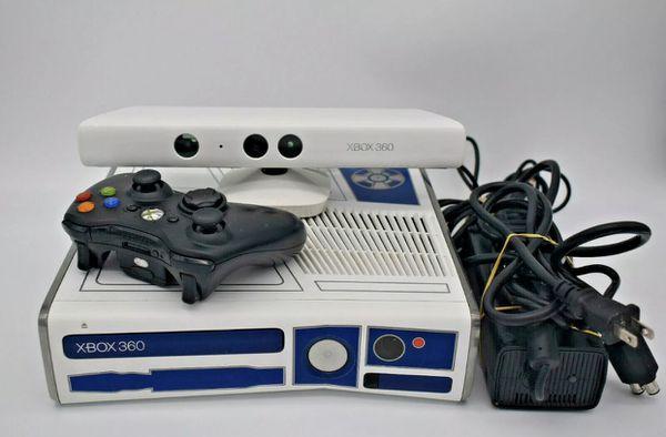 XBOX 360 S CONSOLE MODEL 1439 320GB R2D2 STAR WARS EDITION