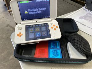 Nintendo 2DSXL with case and games for Sale in Corpus Christi, TX