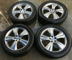 "INFINITI FX35 FX50 20"" INCH WHEEL RIMS W/ TIRES (SET OF 4) for Sale in Fort Lauderdale, FL"