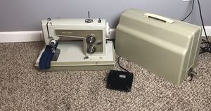 Vintage Sears Kenmore Zig Zag Sewing Machine Model 158.13571 w/Case TESTED- WORKS for Sale in French Creek, WV