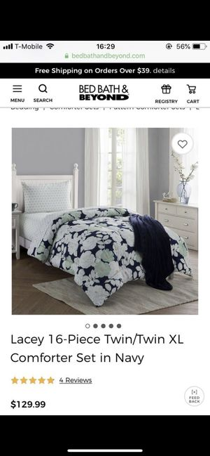 College bed set Bed bath and beyond for Sale in Boston, MA