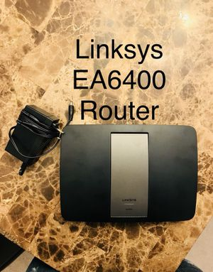 Like new - linksys ea6400 router (only used for couple months) for Sale in Canton, MI