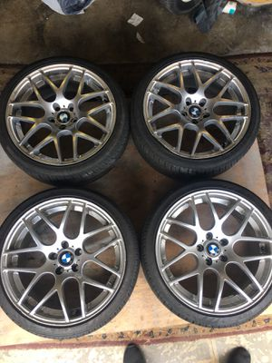 BMW 19in tires wheels rims for Sale in Puyallup, WA