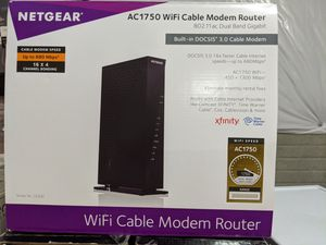 New Netgear Cable Modem / AC 1750 Router for Sale in Dublin, OH