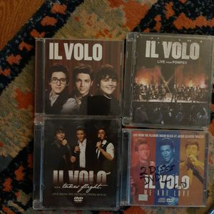 IL VOLO DVDS LOT BUNDLE OF 4 for Sale in Buckley, WA