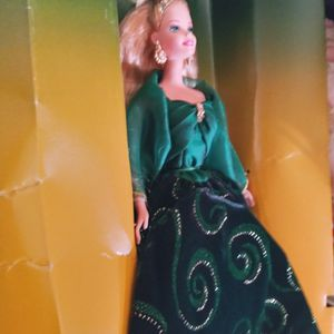 Emerald green Collectors Barbie Doll Edtion With Certificate for Sale in Belleview, FL