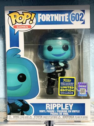 Funko Pop Fortnite Ripply Sdcc Shared Exclusive for Sale in San Antonio, TX