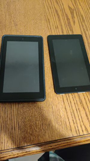Two Amazon fire tablets for Sale in Milwaukie, OR
