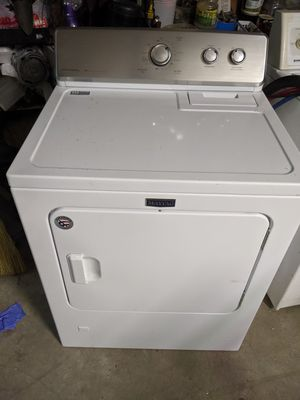 Maytag - 7.0 Cu. Ft. 15-Cycle Gas Dryer for Sale in Groves, TX