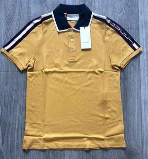 Gucci polo t-shirt (Yellow) for Sale in Dallas, TX