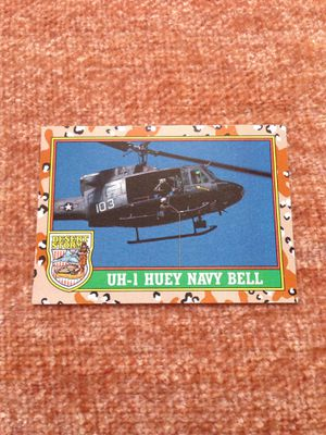 DESERT STORM: UH-1 Huey Navy Bell for Sale for sale  Huntersville, NC