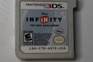 Infinity Toy Box for Nintendo 3ds for Sale in Amityville,  NY