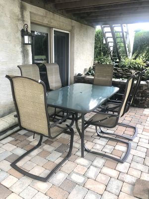 Glass Patio Table for Sale in Bernville, PA