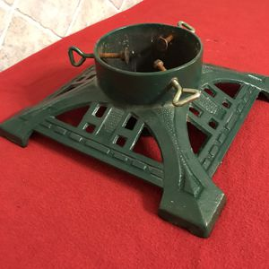 Christmas tree stand cast iron vintage for Sale in Fresno, CA