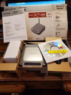 Belkin Wireless Router for Sale in Lakehurst, NJ