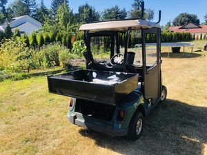08-19 Ezgo rxv golf cart utility bed for Sale in Seattle, WA