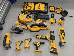 Dewalt 18V Cordless Power Tool Collection Impact Hammer Drill Circular Saw Rotary Laser Level XR XRP 20V Compatible for Sale in Peoria, AZ