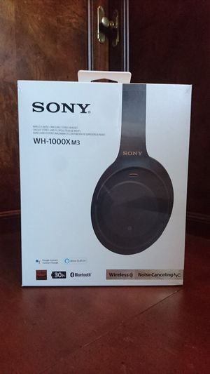 Sony WH-1000XM3 Wireless Noise Canceling Headset for Sale in Cleveland, OH