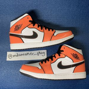 Air Jordan 1 Mid SE 'Turf Orange' Size 8 for Sale in Washington, DC