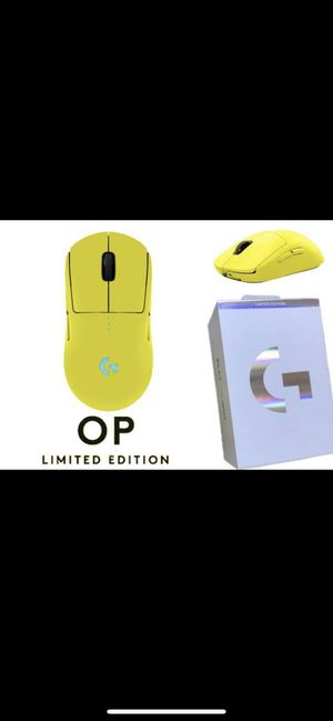 Logitech G OP PRO Wireless Gaming Mouse LIMITED EDITION - Lime for Sale in San Francisco, CA