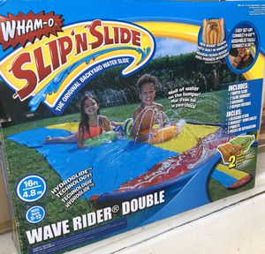 Slip N Slide Double Wave Rider with 2 Boogie Boards for Sale in Palmdale, CA