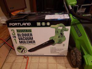 Portland 3-1 Electic Blower vacuum Mulcher for Sale in Woodbridge, VA