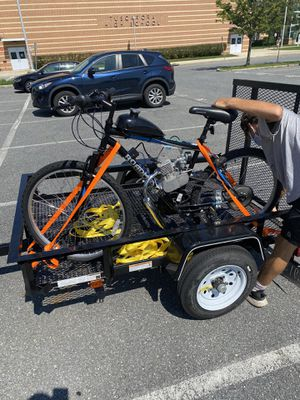 Gas powered mountain bike for Sale in Frederick, MD