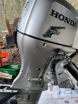 75 horse Honda outboard boat motors 2008 for Sale in Snohomish,  WA