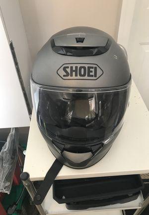 Shoei motorcycle helmet for Sale in Woodstock, GA