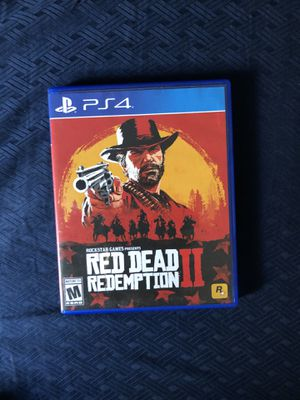 Red Dead Redemption 2 with data disk for Sale in Los Angeles, CA
