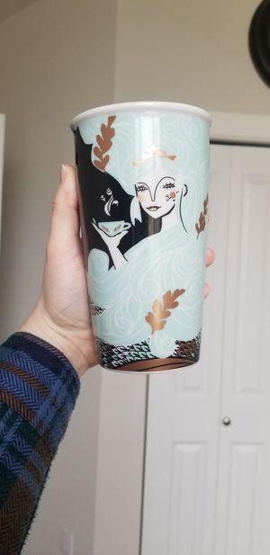 New Starbucks 2018 Holiday Limited Edition 12oz Siren Mermaid Ceramic Tumbler for Sale in Marysville, WA