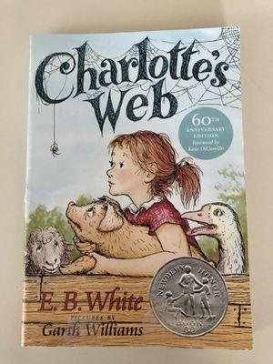 Charlotte's Web Paperback for Sale in Ashburn, VA