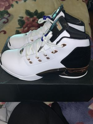 Air Jordan 17+ Retro WHITE/MTLC/CPPRCN /BLK for Sale in Fresno, CA