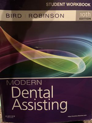 Modern Dental Assisting 10th edition. Student working-book for Sale in Howell Township, NJ