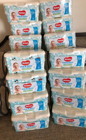 14 Packs of Huggies Wipes. Please see all the pictures and read the description for Sale in Falls Church, VA